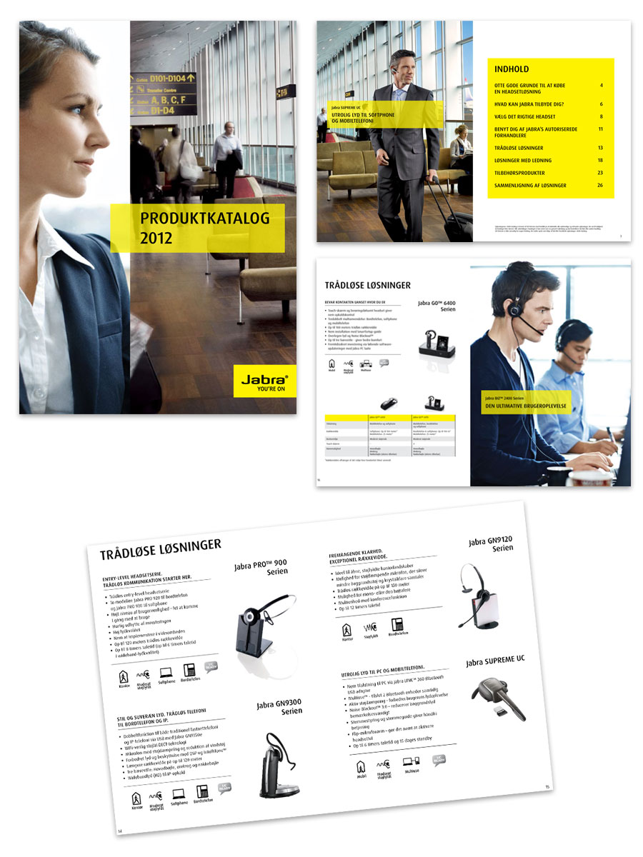 Jabra product catalog
